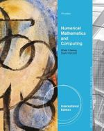 Numerical Mathematics and Computing : Stimulus Book - E.W. Cheney
