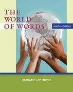 The World of Words : Vocabulary for College Success - Margaret Ann Richek