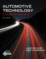 Automotive Technology : A Systems Approach - Rob Thompson