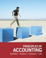 Principles of Accounting - Belverd E Needles