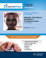 Coursemate Printed Access Card for Milady Standard Esthetics Fundamentals - Milady
