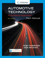 Tech Manual for Erjavec's Automotive Technology : A Systems Approach - Jack Erjavec