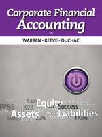 Corporate Financial Accounting - Dr Carl S Warren