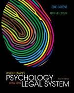 Wrightsman's Psychology and the Legal System - Edith Greene