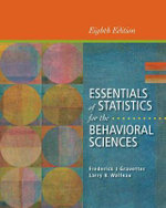 Essentials of Statistics for the Behavioral Sciences - Frederick J Gravetter