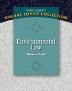 Environmental Law - Lisa Johnson