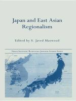 Japan and East Asian Regionalism : Nissan Institute/Routledge Japanese Studies - S. Javed Maswood