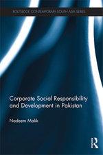Corporate Social Responsibility and Development in Pakistan - Nadeem Malik