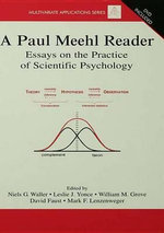 A Paul Meehl Reader : Essays on the Practice of Scientific Psychology