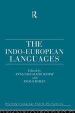 The Indo-European Languages - Anna Giacalone Ramat