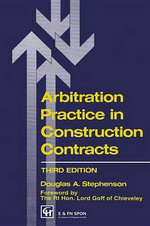 Arbitration Practice in Construction Contracts - D. a. Stephenson