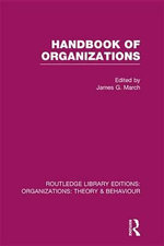Handbook of Organizations : Theoretical Basics and Experimental Evidence