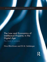 The Law and Economics of Intellectual Property in the Digital Age : The Limits of Analysis - Niva Elkin-Koren