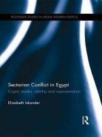 Sectarian Conflict in Egypt : Coptic Media, Identity and Representation - Elizabeth Iskander