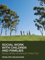 Social Work with Children and Families : Developing Advanced Practice - Penelope Welbourne