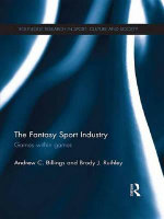 The Fantasy Sport Industry : Games Within Games - Andrew C. Billings