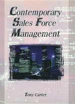 Contemporary Sales Force Management - William Winston