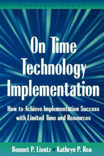 On Time Technology Implementation - Bennet Lientz