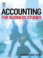 Accounting for Business Studies - Aneirin Owen