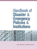The Handbook of Disaster and Emergency Policies and Institutions - Stephen Dovers