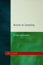 Access to Learning for Pupils with Disabilities - John Cornwall