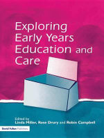 Exploring Issues in Early Years Education and Care : New Policy Networks and the Neoliberal Imaginary - Linda Miller