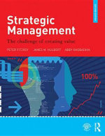 Strategic Management : The Challenge of Creating Value - Peter Fitzroy