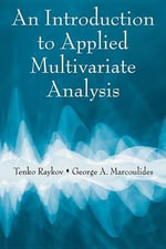 An Introduction to Applied Multivariate Analysis - Tenko Raykov