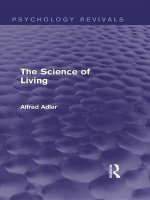 The Science of Living - Alfred Adler