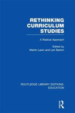Rethinking Curriculum Studies (Rle Edu B)