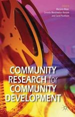 Community Research for Community Development