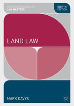 Land Law : Radical Theoretical Encounters - Mark Davys