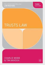 Trusts Law - Charlie Webb