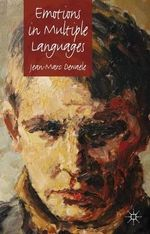 Emotions in Multiple Languages - Jean-Marc Dewaele