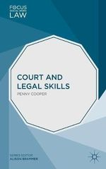 Court and Legal Skills - Penny Cooper