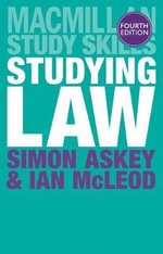 Studying Law : Studying Law - Simon Askey