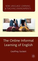The Online Informal Learning of English - Geoffrey Sockett