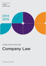 Core Statutes on Company Law 2014-15 - Cowan Ervine