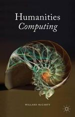 Humanities Computing - Willard McCarty