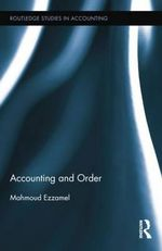 Accounting and Order - Mahmoud Ezzamel