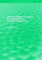 The Link Between Company Environmental and Financial Performance - David Edwards