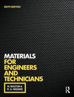 Materials for Engineers and Technicians - Bill Bolton