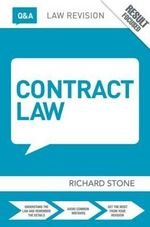 Q&A Contract Law - Richard Stone