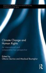 Climate Change and Human Rights : An International Law Perspective