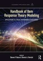Handbook of Item Response Theory Modeling : Applications to Typical Performance Assessment