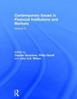 Contemporary Issues in Financial Institutions and Markets: Volume II : Volume II