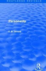 Personality - F.B. Jevons