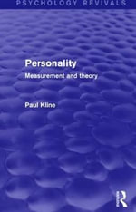 Personality (Psychology Revivals) : Measurement and Theory - Paul Kline