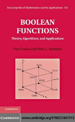 Boolean Functions - Yves Crama