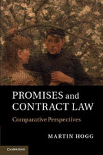 Promises and Contract Law - Martin Hogg